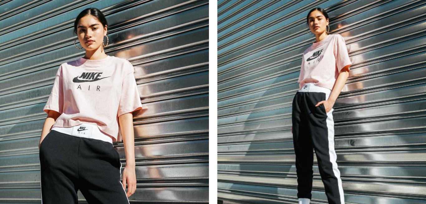 Nike Air Black Pink Outfit Look 4
